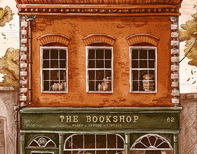 The Bookshop Art Print