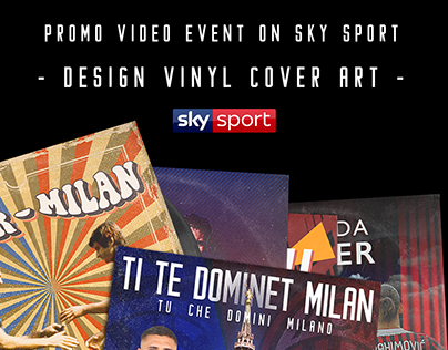 Vinyl Cover Art on Sky Sport