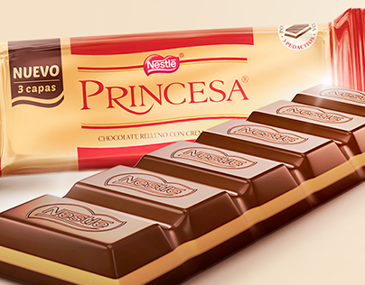 Chocolate Princesa / #SeNotaQue