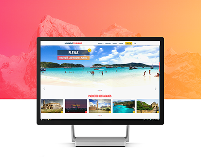 Mundo Turismo - Travel Agency - Web Design