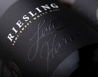Riesling Late Harvest Black Edition