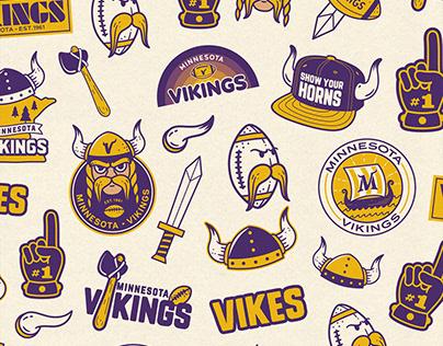 Minnesota Vikings Helmet
