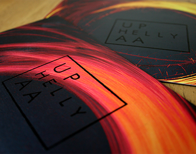 Up Helly Aa-Themed Event Identity