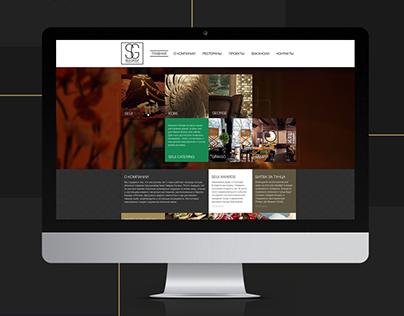 Corporate hospitality group website - Seiji Group