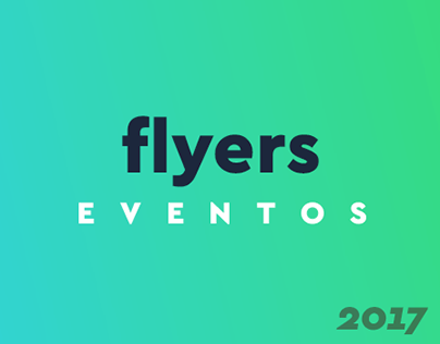 Flyers Eventos // 2017