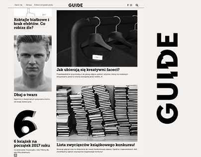 Guide Magazine website