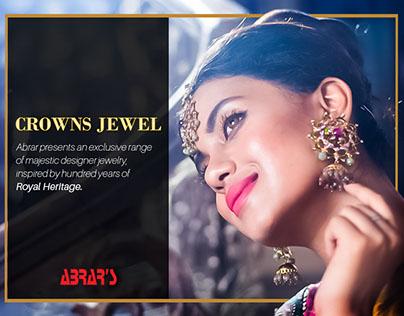 Digital Content for Abrar's Designer Jewelry