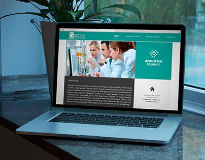 Diseño y programación página Web Gestica