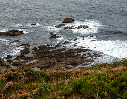 Rocks in Brittany