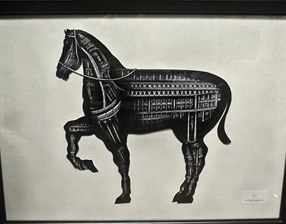 Meticolious I - Horse of Renaissance