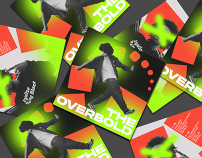 Identity for hiphop music band THE OVERBOLD