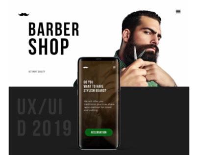 Barber Shop | UX/UI | Concept