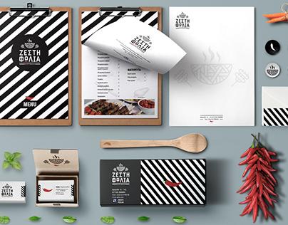 Branding / Stationary for Grill House The Hot Nest