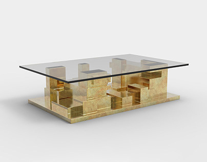 Brutalist Table