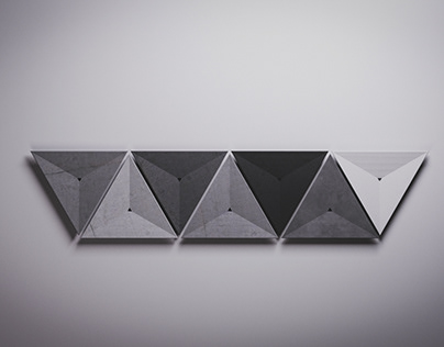 triangle washbasin