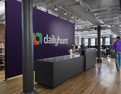 Dailyhunt - Brand Identity Design