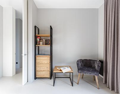 Minimalism Flat interior