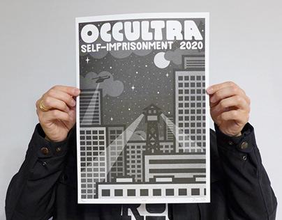 """SELF-IMPRISONMENT 2020"" riso prints"