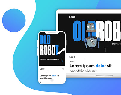 Web design Old Robot