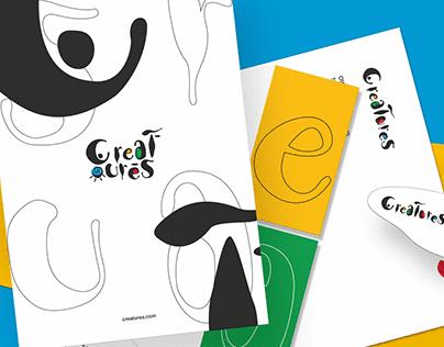 Creatures Brand Identity Design.