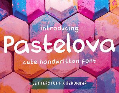 Pastelova Cute Typeface