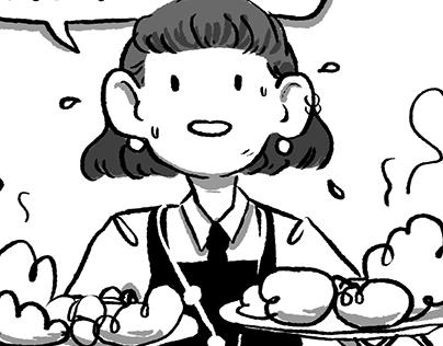 Comic Strips: Customer Service