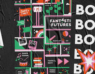 Event branding & design - FantasticFutures