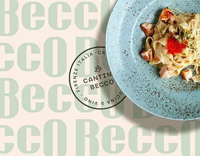 Cantina Becco   Visual Identity