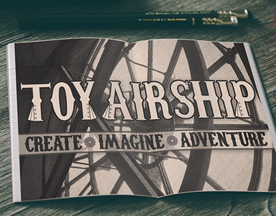 Toy Airship: Typeface Project