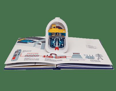 Pop up книга-презентация о компании