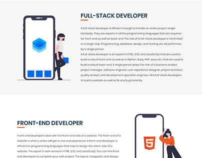 Who Are Full-Stack, Front-End, And Back-End Developers