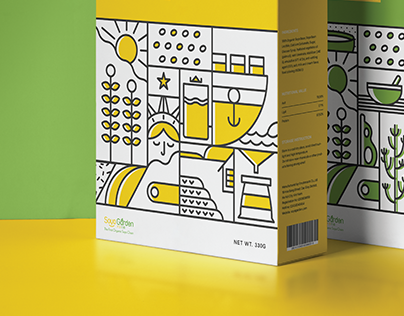 Soya Garden - Soymilk Packaging Design