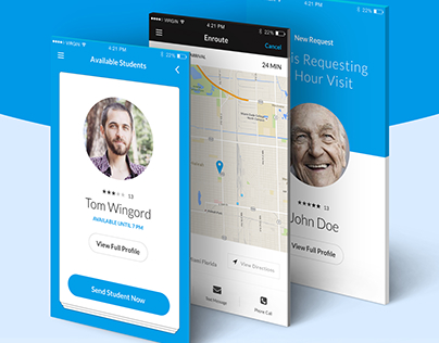 On-Demand Assistance App For Seniors