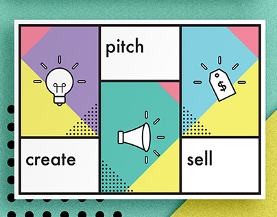 create. pitch. sell.