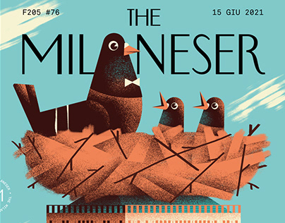 The Milaneser #76 - Cover illustration