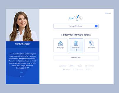 Lead Funnel Website Design