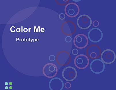 Color Me Mobile Application