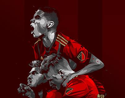 Atlanta United - Championship Illustration