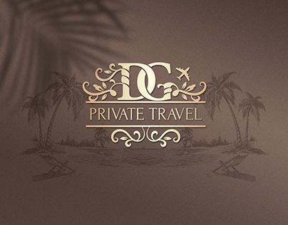 Логотип и фирменный стиль для туристической компании
