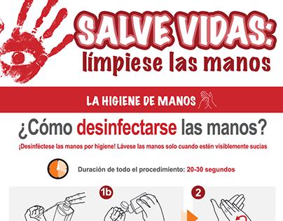 Infografía SALVE VIDAS