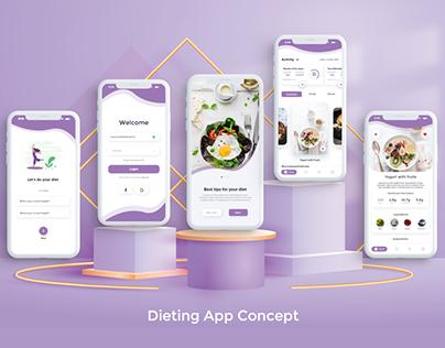 Dieting App Design