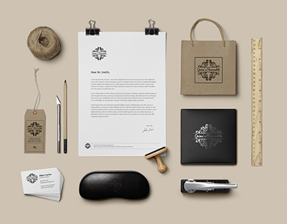 Quinn's Mercantile Brand identity Creation Project