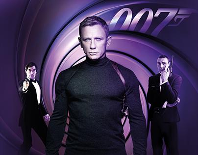 007 James Bond Digital Promotion Videos for Digiturk