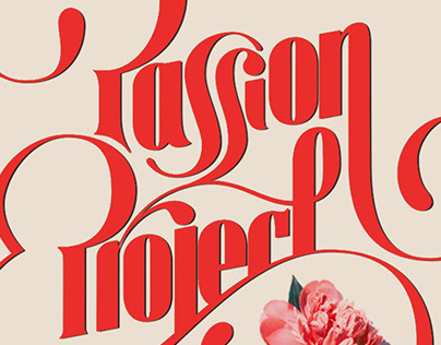 Passion Project– Typographic Illustration