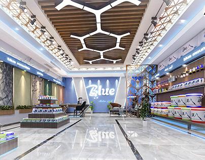 Interior design Blue Center