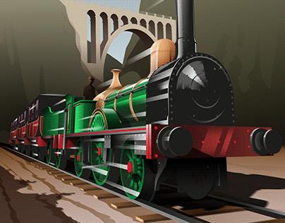 150 Años del Ferrocarril - Poster