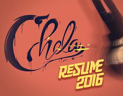 CV/Resume 2016