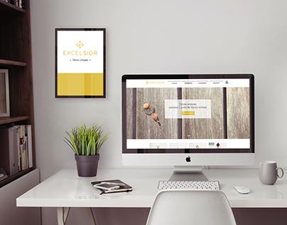 Excelsior Bijoux - Logo & Web design
