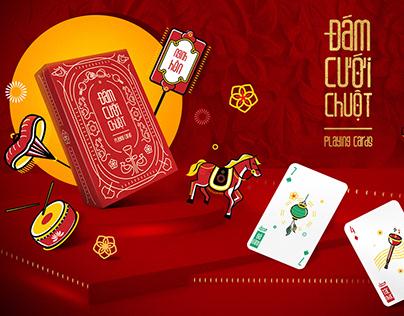 Đám Cưới Chuột Playing Cards   The Mice Wedding   2020