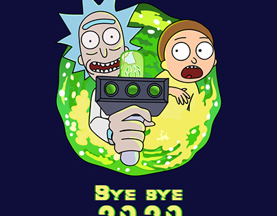 Fond d'écran Rick et Morty gratuit